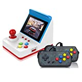 Sonmer Mini Retro Arcade Game Machines, Build-in 360 Classic Video Games,Dual Wired Joysticks,Support AV Out, Portable Gaming Toy for Kids