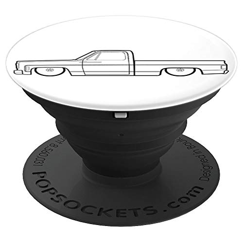 Gravy Vintage (Gravy Gear Squarebody 73-87 Vintage Truck PopSockets Phone - PopSockets Grip and Stand for Phones and Tablets)