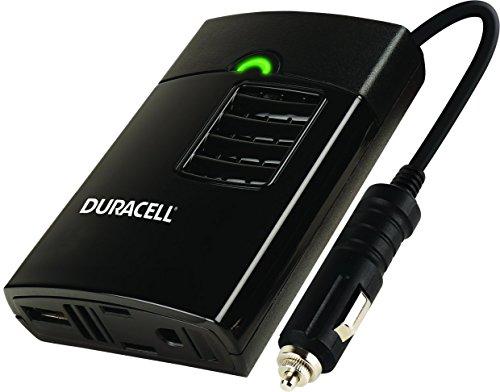 (Duracell DRINVP150 Portable Power Inverter, 150 Watt, Black (Renewed))