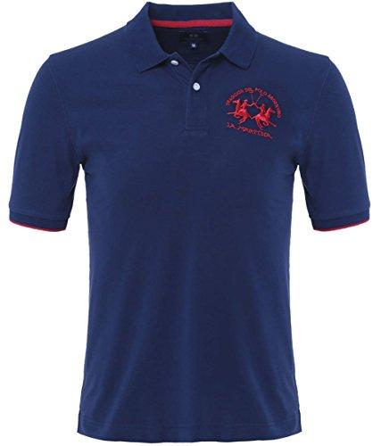 la-martina-plain-polo-shirt-navy-m