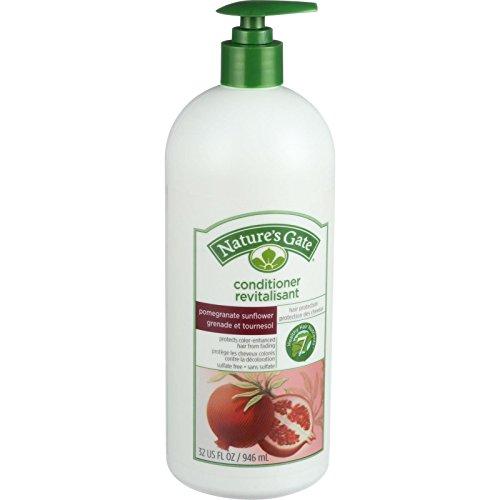 Nature's Gate Conditioner - Pomegranate and Sunflower Hair Defense - 32 oz - Pomegranate Sunflower Hair Defense