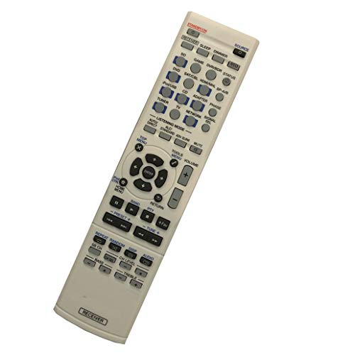 Easy Replacement Remote Control Work for Pioneer VSX-90TXV AXD7661 VSX-1022 VSX-521 VSX-521-K AV Home Theater AV A/V Receiver System