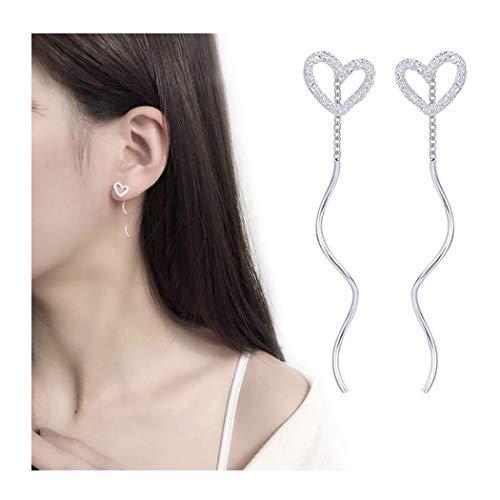 Campsis Heart Earrings Wave...