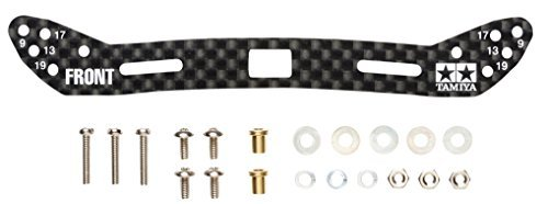 Carbon for Tamiya Mini four wheel drive Special Products HG front wide slide damper stay 2mm 95284