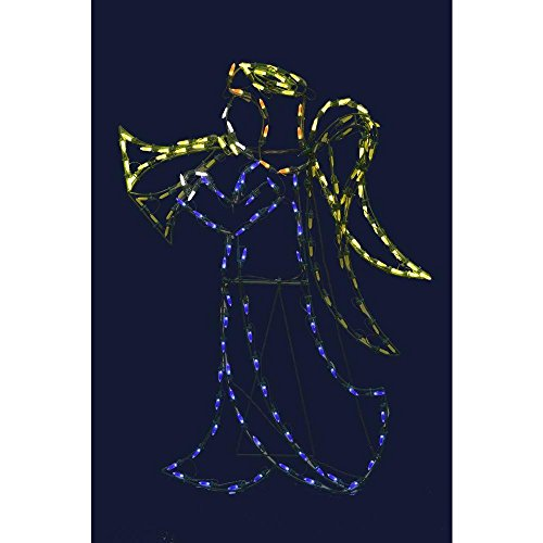 Lighted Outdoor Nativity Angel - 7