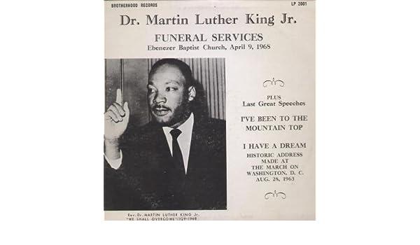 Dr Martin Luther King Jr Funeral Services Ebenezer Baptist