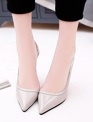 GGX/Damen Schuhe Kunstleder Fall Heels/spitz Toe Heels Büro & Karriere/Party & Abend/Casual Stiletto-Absatz white-us6 / eu36 / uk4 / cn36