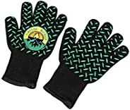 Campfire Defender Protect Preserve Fireside Thermal Resistant Gloves - Fire Resistant Up to 932F - Great for BBQ or Kitchen