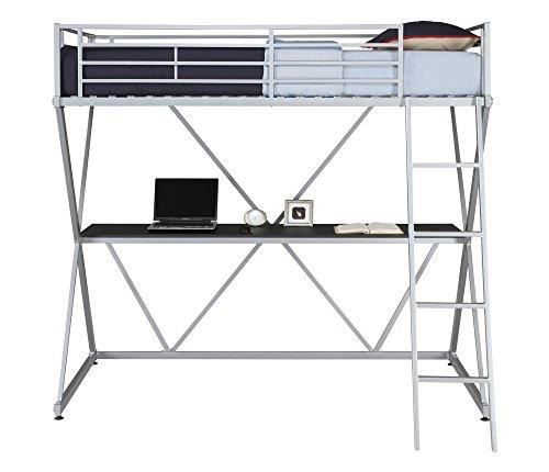 - DHP X-Loft Bunk Bed - Silver Silver