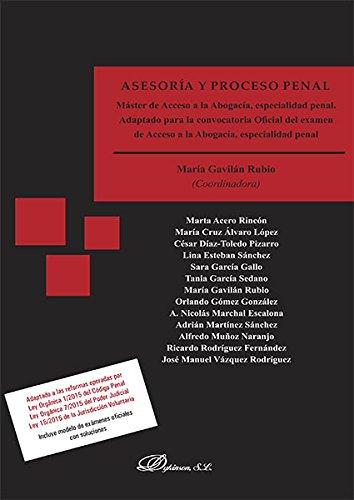 ASESORIA Y PROCESO PENAL MASTER DE ACCESO A LA ABOGACIA PDF