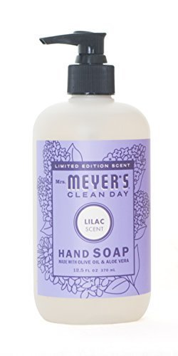 Mrs. Meyer's Liquid hand soap, Lilac, 12.50 oz