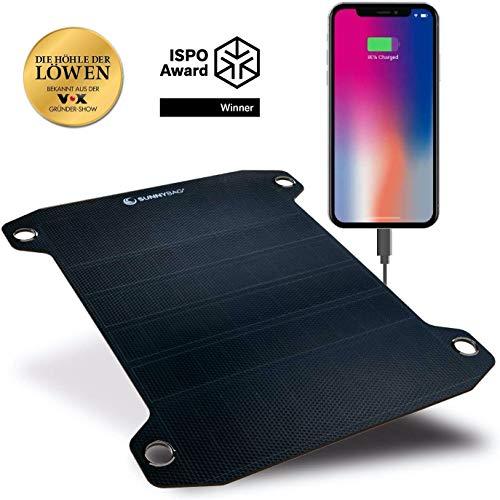 Sunnybag LEAF PRO – El panel solar flexible más potente del mundo – Cargador solar para exteriores Premium – Ganador del…