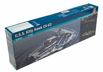 Italeri U.S.S. Kitty Hawk CV-63