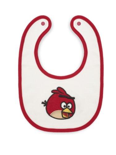 Swaddle Cotton Bib, Bitty Bib, Angry Birds Baby, Red Bird...