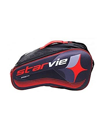 Amazon.com: Starvie - Bolsa de padel, color rojo: Sports ...