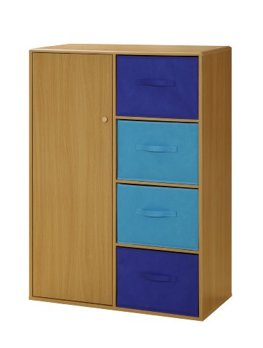 Blue Storage Armoire - 4D Concepts Boy's Storage Armoire