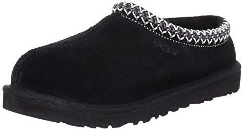 UGG Australia Men's Tasman Black Suede Slippers - 10 D(M) US