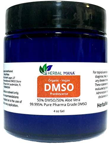 DMSO 4oz Gel 50/50 Aloe Vera  - Custom Essential Oil Infusio