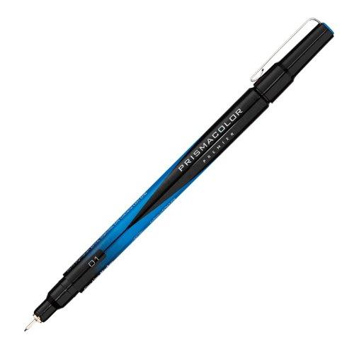 Prismacolor 01 Fine Line Marker, Blue