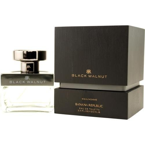 Banana Republic Eau de Toilette Spray for Men, Black Walnut, 3.4 Fluid - Black Walnut Banana