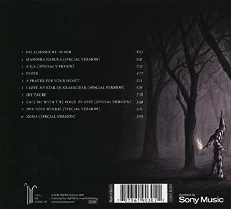 lacrimosa sehnsucht limited edition