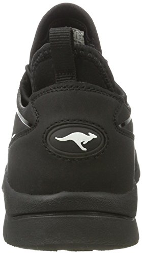 Kangaroos Oge - Zapatilla Baja Unisex Niños Schwarz (All Black)