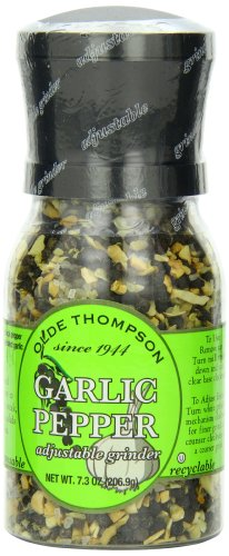 Olde Thompson Garlic Pepper, 7.3-Ounce Grinders (Pack of 2)