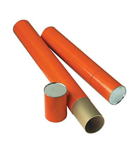 Alvin T418-25 Orange Fiberboard Tube 4