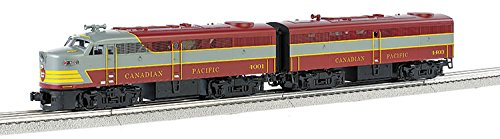 Bachmann Industries Powered Scale Diesel Set Canadian Pacific 4001 (A) 4403 (B) O Scale Train