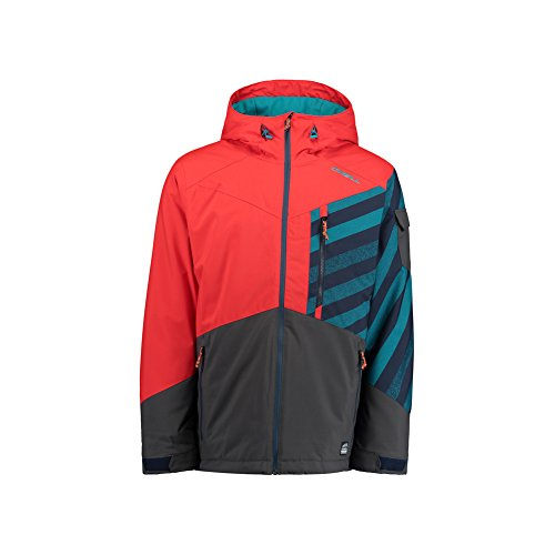 Oneill Snowboard Jackets (O Neill Cue Snowboard Jacket Large Fiery Red)