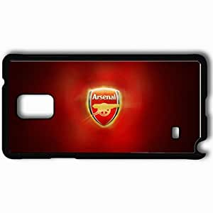 Personalized Samsung Note 4 Cell phone Case/Cover Skin Arsenal Fc Black