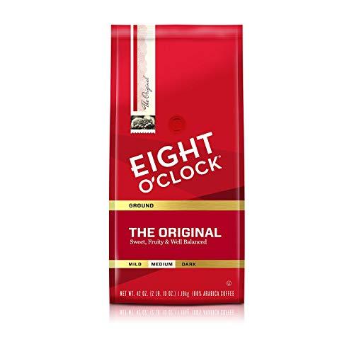 Eight O'Clock The Original Ground Coffee, 42-Ounce Package (2 X 42 Ounces) ()