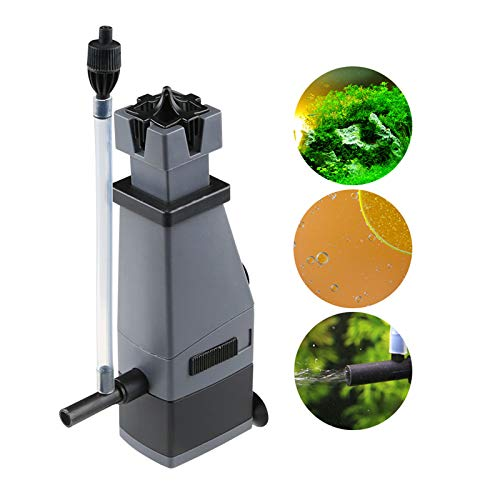 300L Water Pump oxygenation Aquarium Fish Tank Freshwater plant Surface Oil Protein Skimmer Marine Clear Water Plant Filter For fish tank FH-1