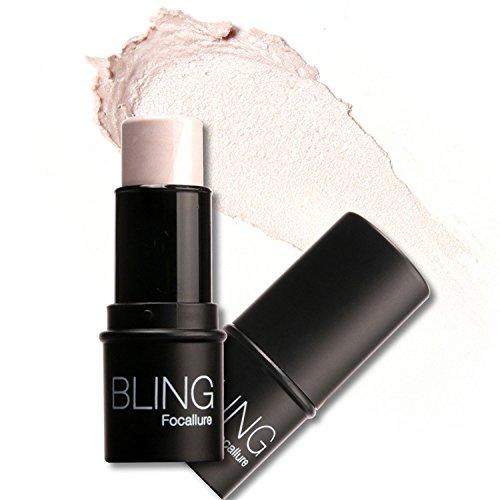 Lantusi Highlight Powder Stick,Powder Waterproof Light Cosmetics Shadow Face Eyes Makeup Cosmetics - 1