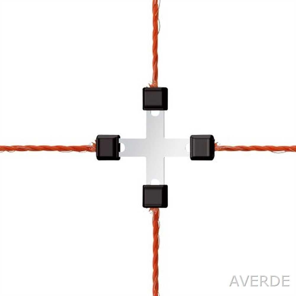 AKO k442018 081 8-Piece Repair Set for Braid Clip Galvanised