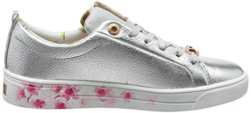 Baker Donna Silver Argento Sneaker Kelleip Blossom Ted BxdUFwqaB