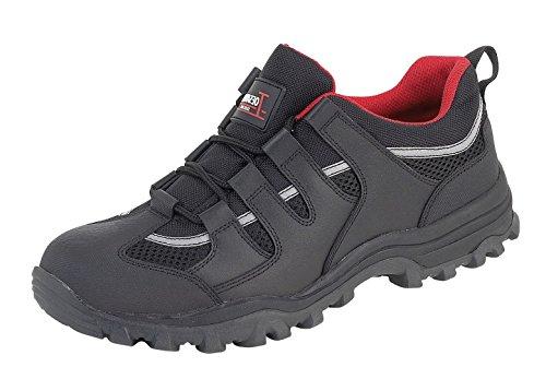 Toesavers Sneaker - 3420 Leder schwarz