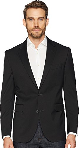 Dockers Men's Stretch Suit Separate (Blazer and Pant), Black, 40 Short