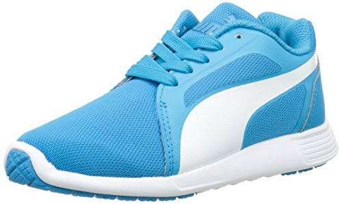 Blue atomic Puma St Baskets Trainer Blue Basses Evo on Bleu Gar atomic FZPZrvA46c