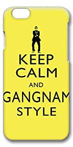 iPhone 6 Plus Case, Ultra Slim Pattern Bumper for iPhone 6 Plus Cover (5.5) Keep Calm And Gangnam Style Psy Creativity 3D iPhone 6 Plus cases for Girls iphone 6 Plus case hard PC Skin