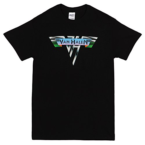 Van Halen 1978 Vintage Logo Men's Black T-Shirt