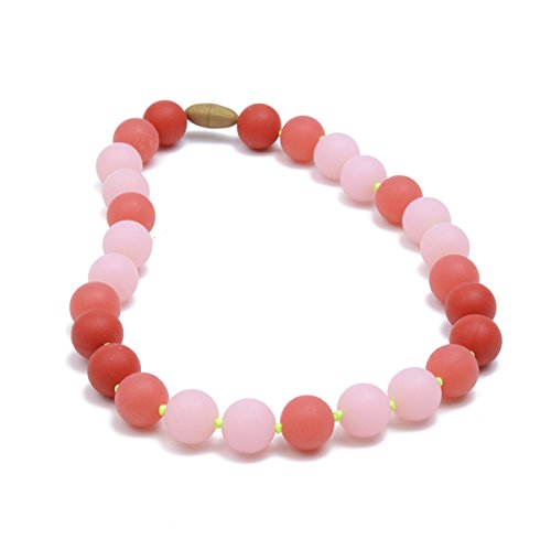 Necklace Bubble Gum Juniorbeads by Chewbeads Bleecker Jr 100/% Safe Silicone Glow in The Dark
