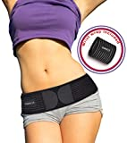 (US) Sacroiliac Si Joint Support Belt for Women and Men   Eases Lower Back Pain, Hip, Spine & Leg Pain   Hip Brace for Sciatic Nerve Pain   Trochanter Belt  Lumbar Support