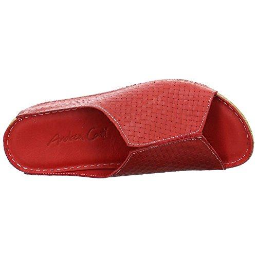 Andrea Conti 0773413-rot - Zuecos de Piel para mujer Rojo