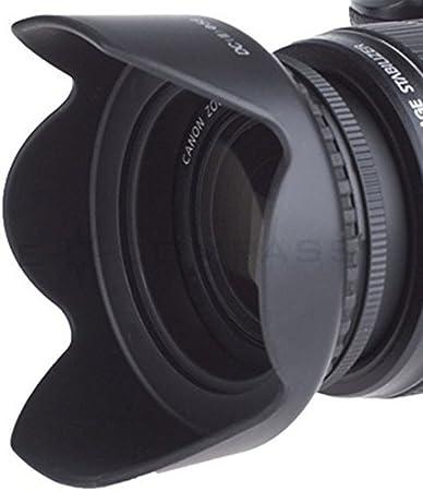 Nikon D40x Pro Digital Lens Hood Flower Design + Nwv Direct Microfiber Cleaning Cloth. 82mm