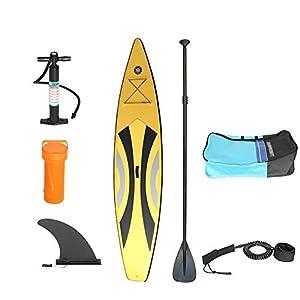 Stand Up Paddel Gonfiabile Acqua Fitness SUP Stand Up insieme del bordo Con Lo Zaino Pompa Paddle Guinzaglio adatti… 12 spesavip