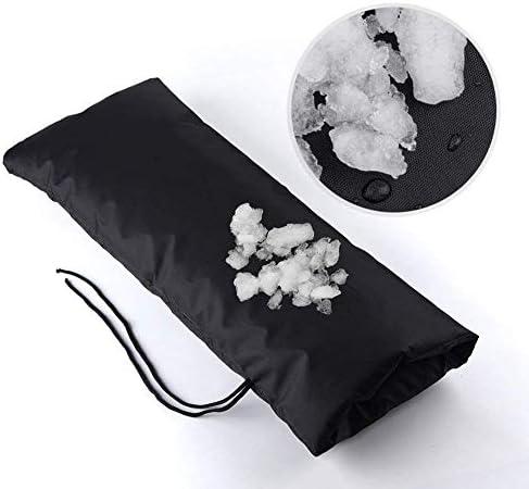 屋外の冬の蛇口の不凍剤の防氷絶縁材の水道管は210Dオックスフォードの布を厚くします