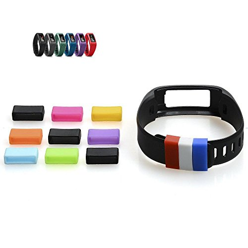 The DigiHero 12 pcs Silicone Fasteners for Garmin Vivofit Wristband ( 12 pcs / pack ) by DigiHero