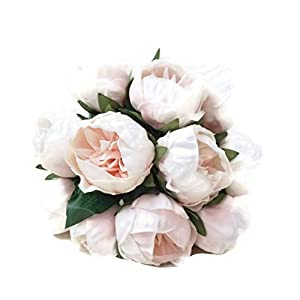 FRP Flowers Artificial Real Touch Small Peony Flowers for Bridal Bouquets, Home Decor, and Flower Arrangements 14