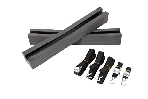 Pelican Boats - Universal Kayak & SUP Car-Top Roof Carrier Kit - PS0481-3 - Fits Vehicles - Heavy Duty & Safe - Kayak Carrier Kit